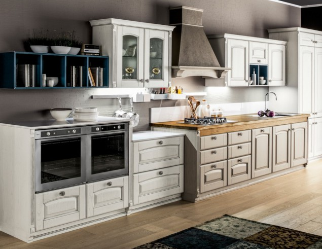 Art 03731900 cucina classica laccata ARREX mod Magda – Perosino ...