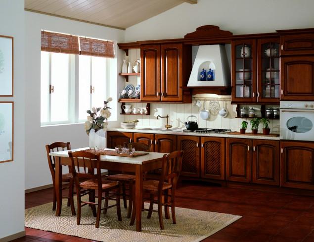 Art 03732900 cucina classica castagno o decap arrex mod costanza perosino arredamenti - Lampadari cucina rustica ...