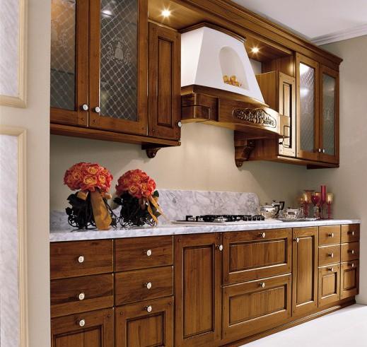 Art 03730200 cucina classica in noce ARREX mod Tiffany – Perosino ...