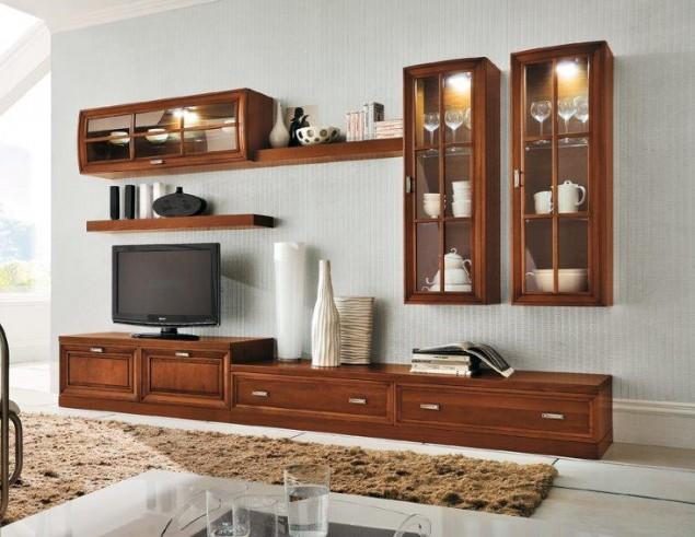Parete attrezzata in legno moderna Fusion – Perosino Arredamenti